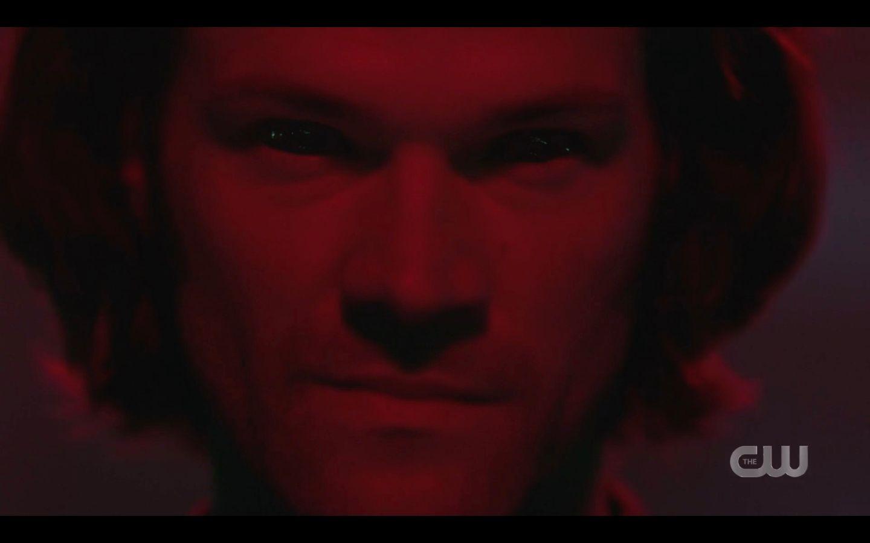 Sam Winchester red Alernate universe look SPN
