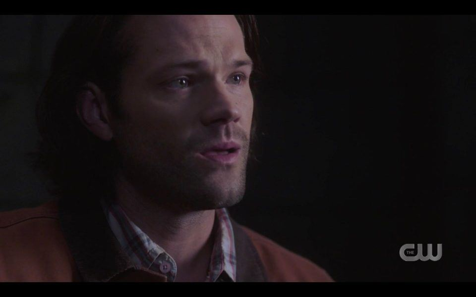 Sam reacts to Dean bullets draped across chest SPN 1503