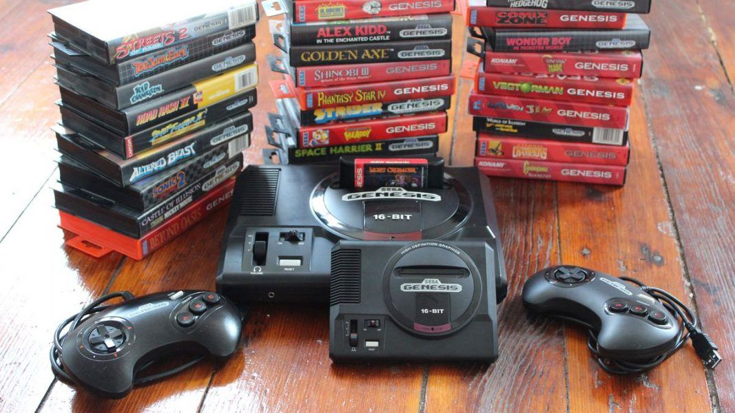 Sega Genesis Mini console 2019 hottest gamer holiday gift ideas