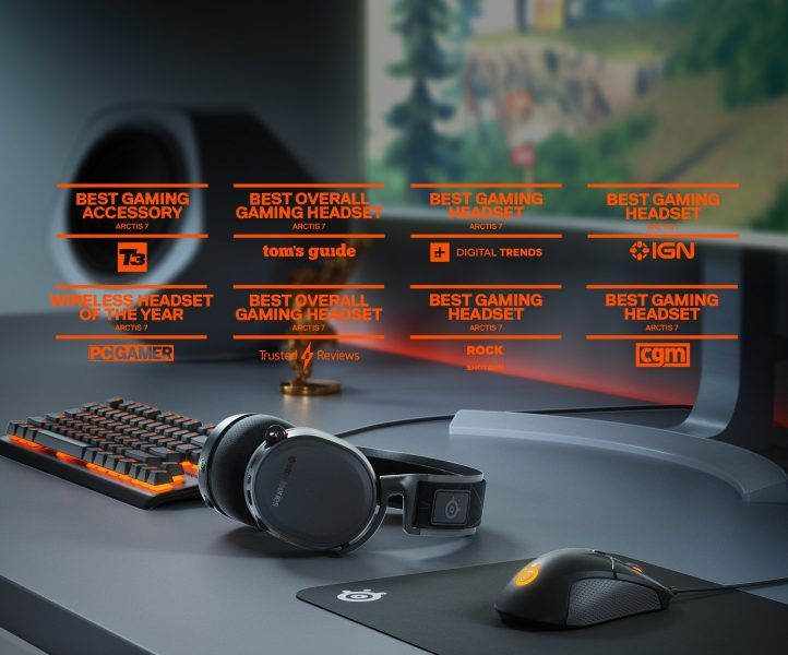 SteelSeries Arctis 7 - Lossless Wireless Gaming Headset 2019 hottest gaming holiday gift ideas