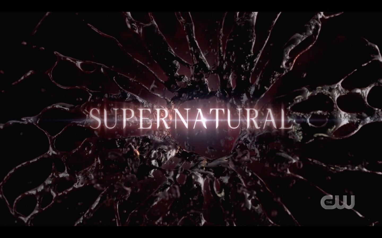 Supernatural Season 15 title card