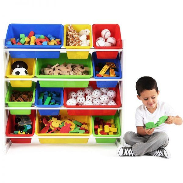 Tot Tutors Kids' Toy Storage Organizer 2019 hottest holiday home gifts