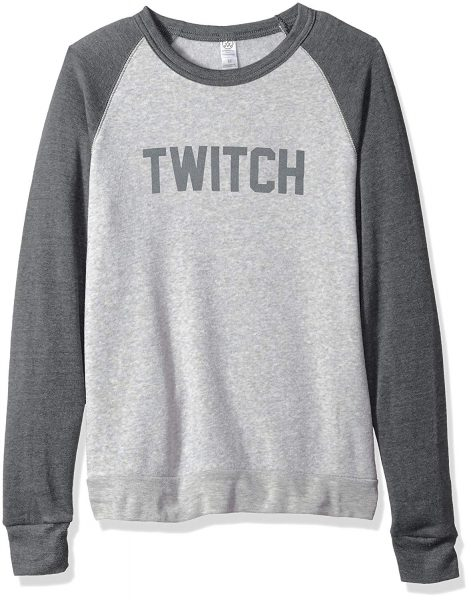 Twitch Colorblock Crewneck Sweatshirt 2019 hottest gamers holiday gift guide