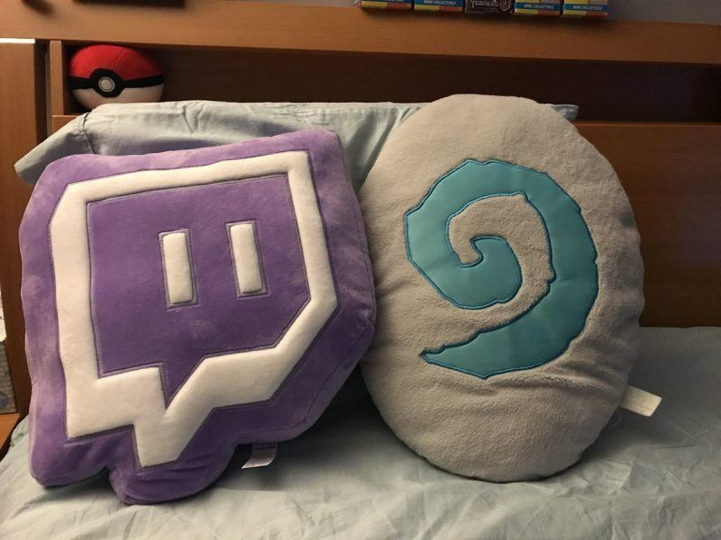 Twitch Glitch Pillow Plush 2019 hottest gaming holiday gift ideas