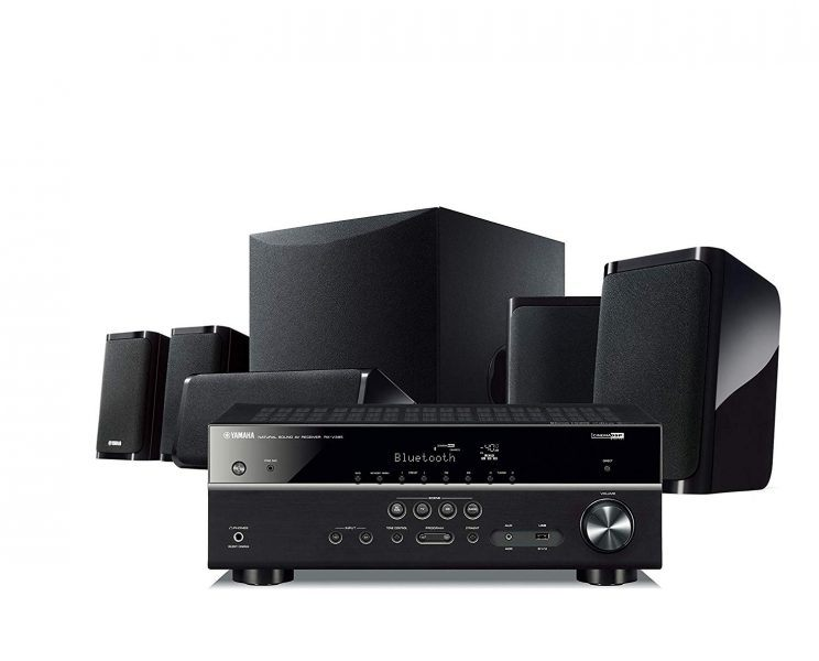 Yamaha YHT-4930UBL 5.1-Channel Home Theater hottest holiday gifts 2019