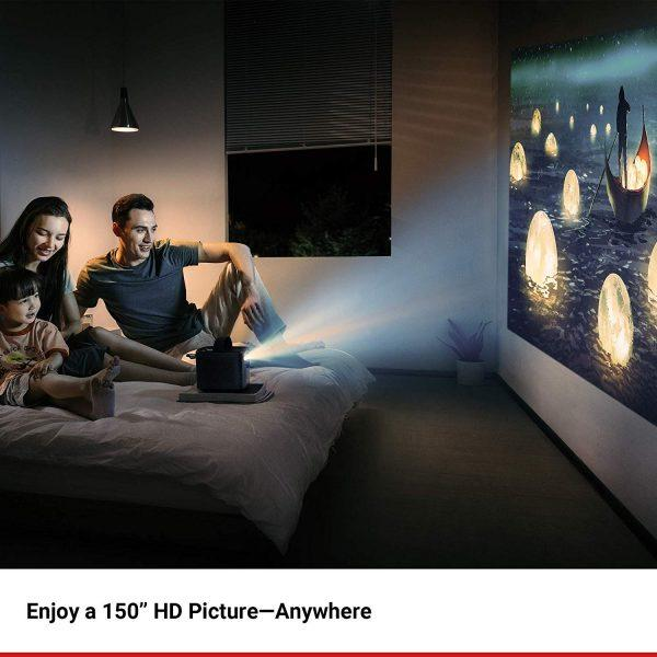 anker nebula mars II300 lumen home theater gift guide 2019