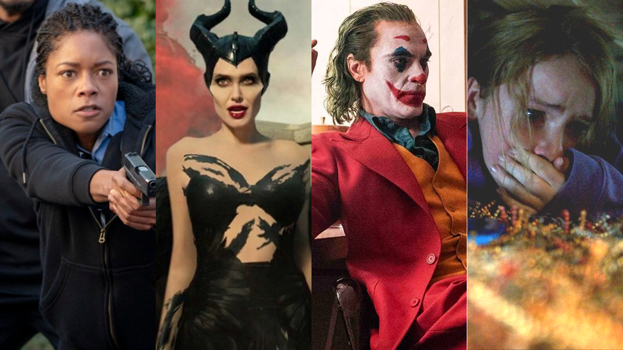 black blue maleficent joker countdown box office weekend