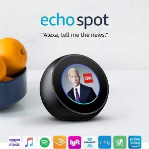 echo spot smart alarm clock 2019 hottest gifts