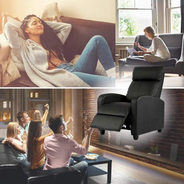 fdw wingback recliner home theater chair hot gift guide 2019