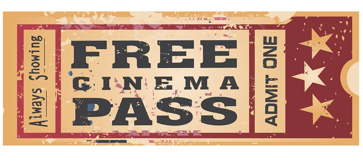 free cinema pass home theater metal collectable sign hot holiday gifts 2019