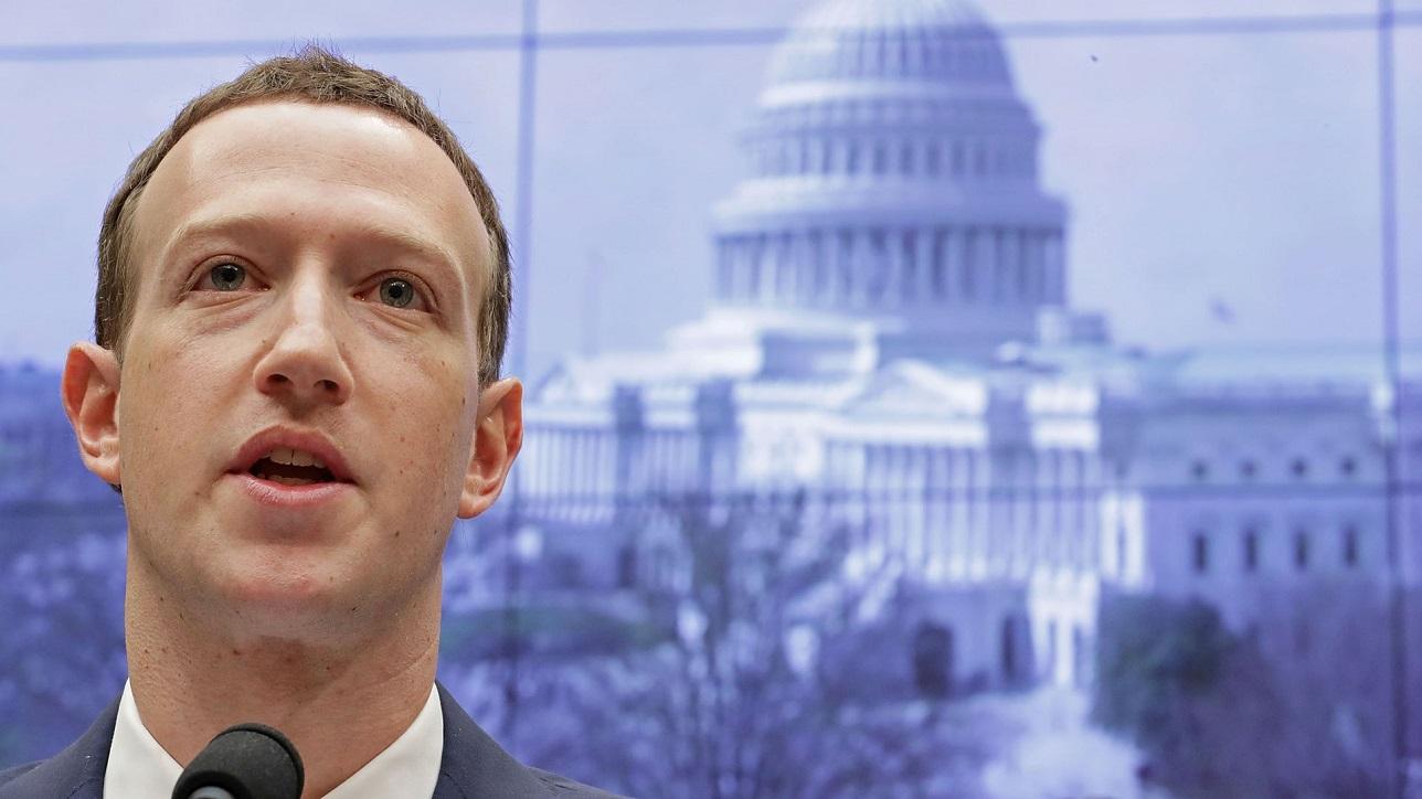 mark zuckerberg in congress for facebook libra currency talk 2019