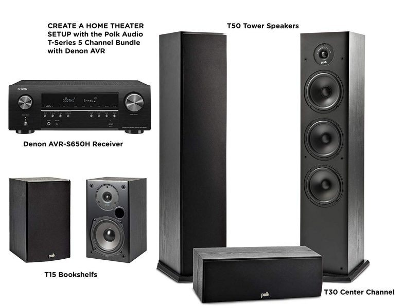 polk t50 tower speakers amazing home theater audio gift guides 2019