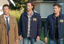 supernatural 1502 raising hell castiel winchester brothers in fbi jackets mttg