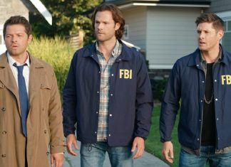 supernatural 1502 raising hell castiel winchester brothers in fbi jackets mttg