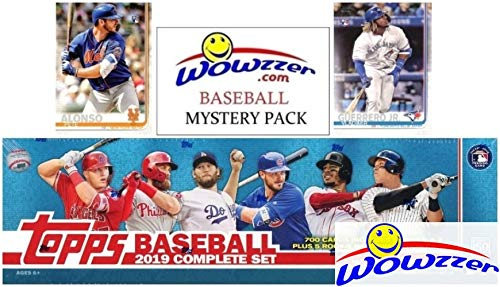 2019 Topps Baseball MASSIVE 706 Card Complete EXCLUSIVE Factory Set hottest holiday sports gift ideas