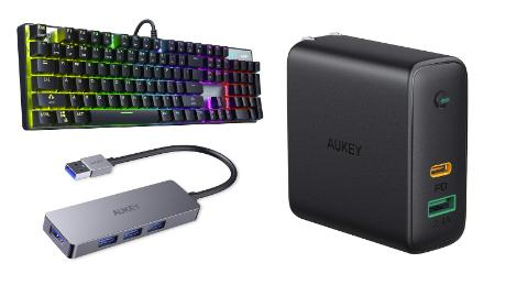 Aukey headphones, chargers and power banks holiday sale deals