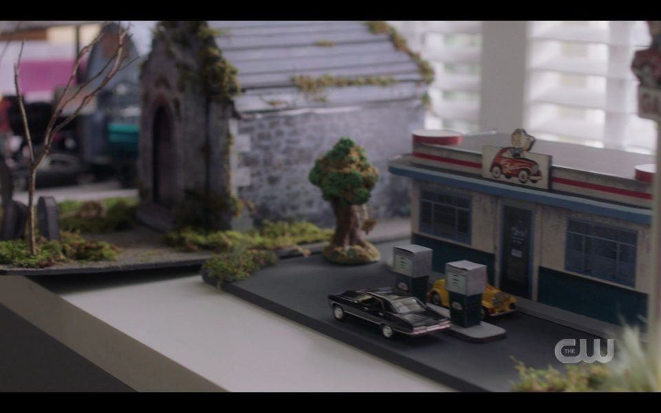 Becky running Supernatural miniatures company