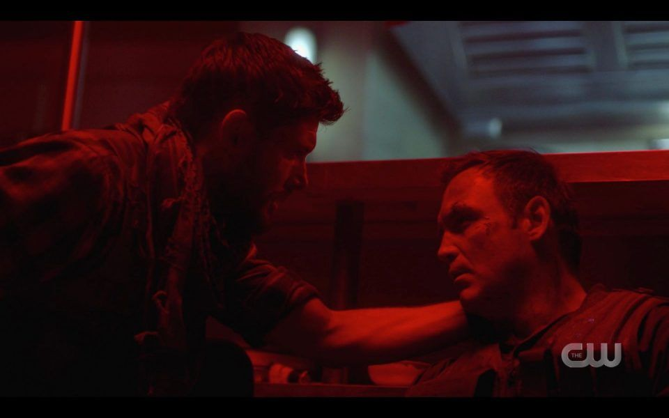 Benny dies again for Dean Winchester Atomic Monsters