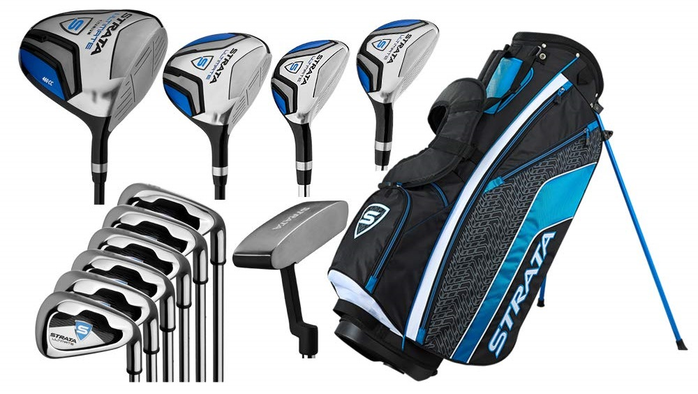Callaway Men's Strata Complete Golf Set 2019 hottest holiday golf sports gift ideas