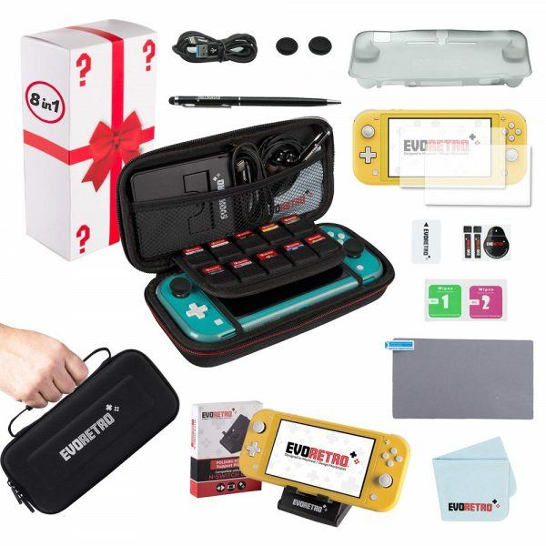 Complete Starter Kit for Nintendo Switch Lite 2019 hottest holiday gamer gifts