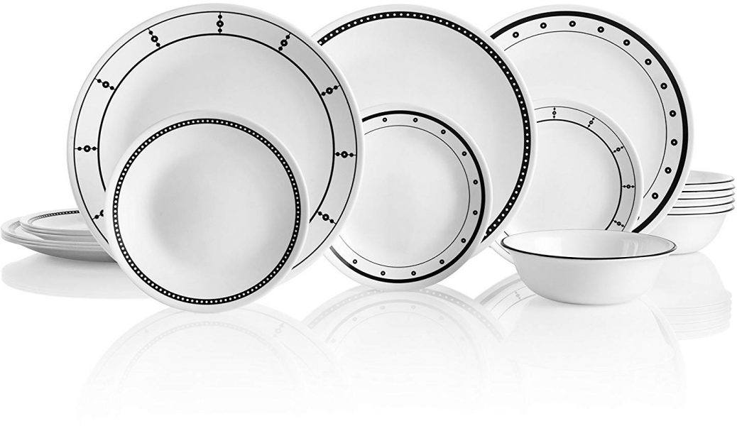 Corelle 18-Piece Service for 6 2019 hottest holiday kitchen gift ideas guide