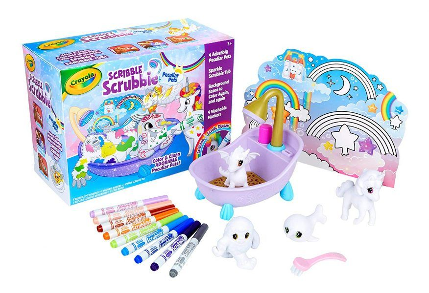 Crayola Scribble Scrubbie Peculiar Pets 2019 hottest holiday kids toys arts crafts gifts