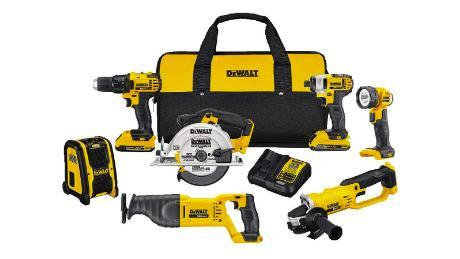 DeWalt tools hot holiday gift deals
