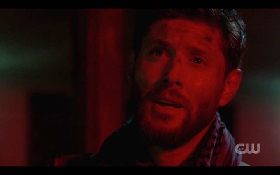 Dean Winchester begging LuciferSam to come back to him SPN 1504