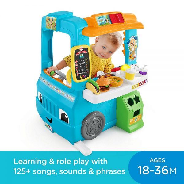 Fisher-Price Laugh & Learn Servin' Up Fun Food Truck 2019 hottest holiday toys gift ideas