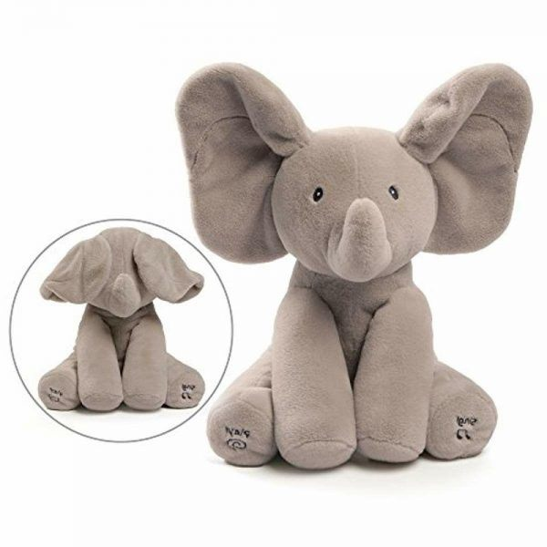 GUND Baby Animated Flappy The Elephant 2019 hottest holiday kids toy collectible gifts