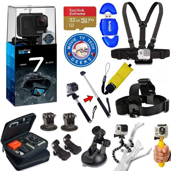 GoPro Hero 7 Black Edition 2019 hottest holiday camera gift ideas
