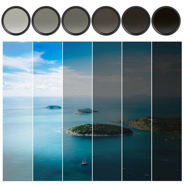 K&F Concept 77mm Fader ND Filter 2019 hottest holiday camera gift ideas