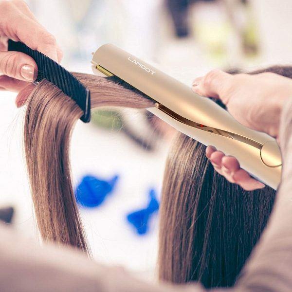 LANDOT Flat Iron 2019 hottest holiday beauty hair gift ideas
