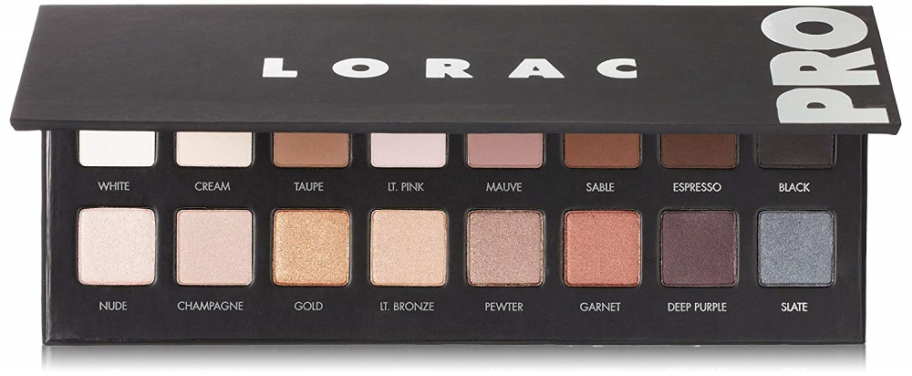 LORAC PRO Palette Eyeshadow Kit 2019 hottest holiday skincare beauty gift ideas