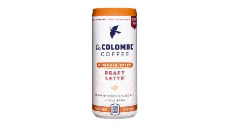 La Colombe pumpkin spice draft latte, 16 Count holiday deals