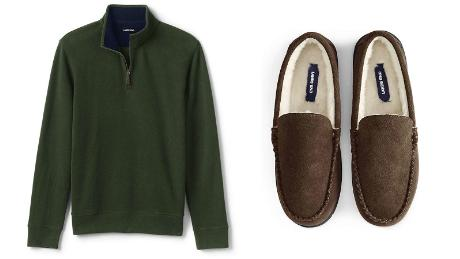 Lands' End clothing shirt sweater shoes hot holiday gifts