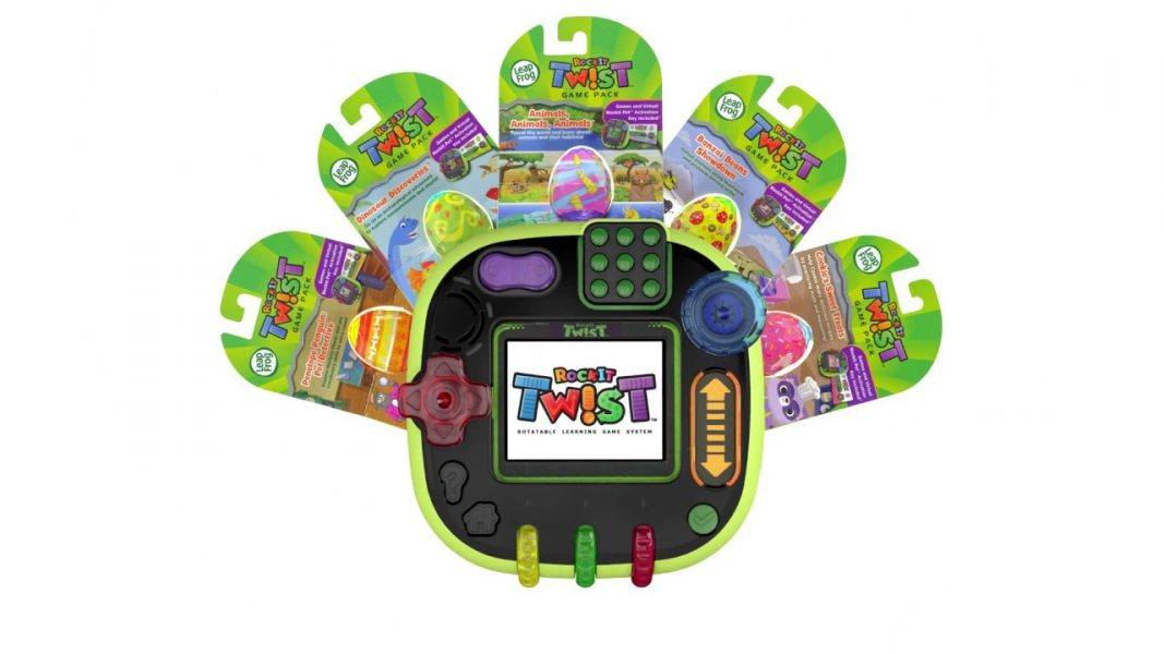 LeapFrog RockIt Twist Game Pack 2019 hottest holiday kids toys games gifts