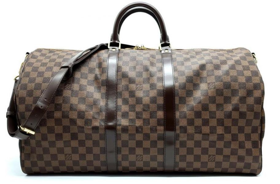 Louis Vuitton Luggage Travel Bag Damier Ebene Keepall 2019 hottest holiday gifts