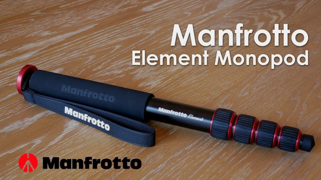 Manfrotto Element Aluminum 5-Section Monopod 2019 hottest holiday camera gifts