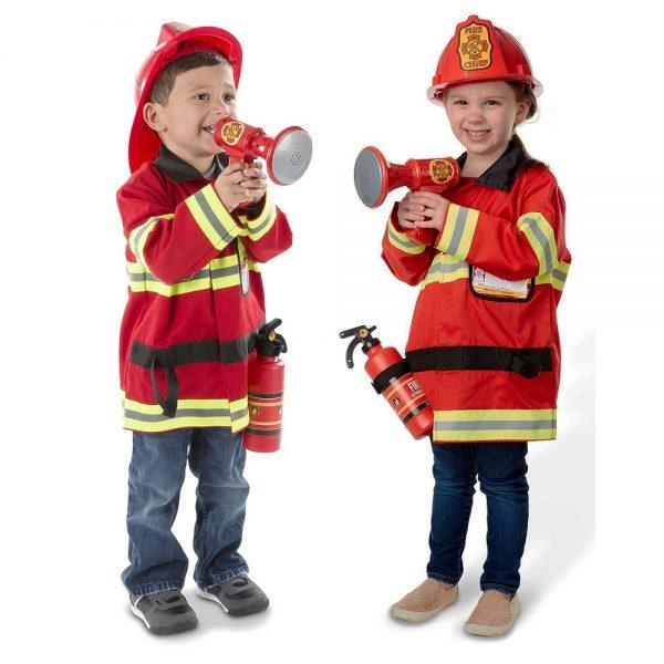 Melissa & Doug Fire Chief Role Play Costume Set 2019 hottest holiday kids toys gifts guide