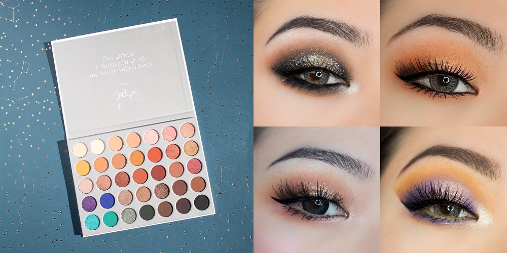Morphe Cosmetics and Jaclyn Hill Eyeshadow Palette 2019 hottest holiday beauty product gifts