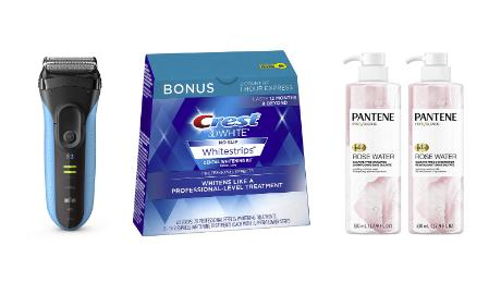 Oral B, Crest, Braun and Pantene personal care products hot holiday deals