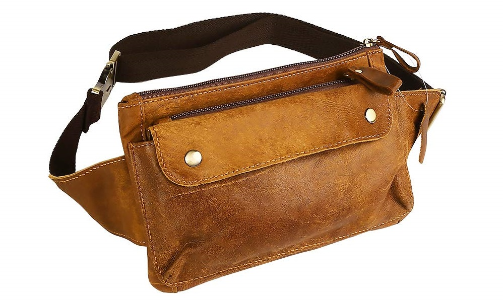 Petzilla Genuine Leather Waist Bag Fanny Pack 2019 hottest holiday gift ideas travel