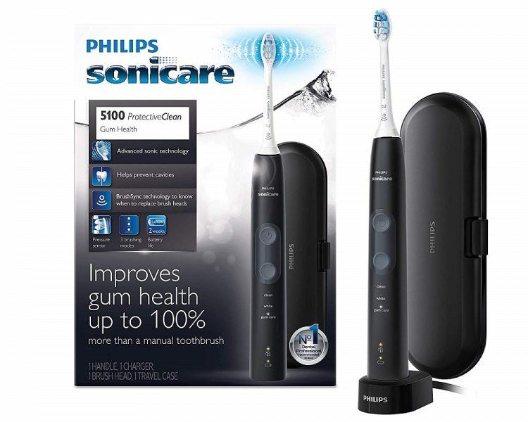 Philips Sonicare ProtectiveClean 5100 2019 hottest holiday beauty gift ideas teeth