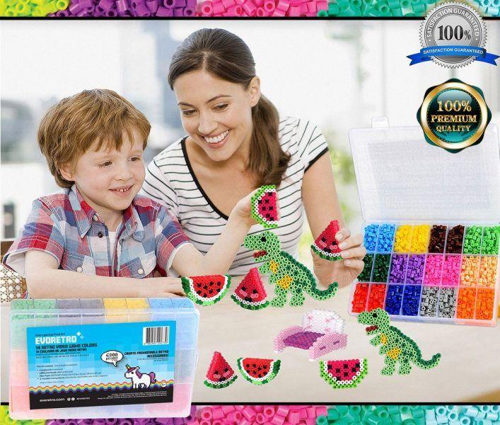 Pixel Beads Art Kit evoretro 2019 hottest holiday hobbyist gifts