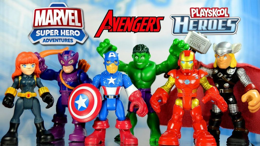 Playskool Heroes Marvel Super Hero Adventures Ultimate Super Hero Set 2019 hottest holiday kids collectibles gifts