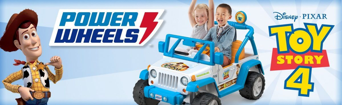 Power Wheels Disney Pixar Toy Story Jeep Wrangler 2019 hottest holiday toy gift ideas
