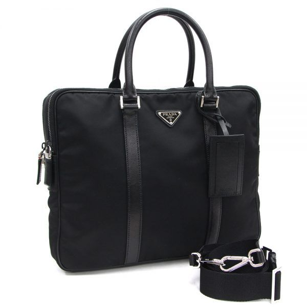 Prada black mens briefcase leather 2019 hottest luxury gift ideas