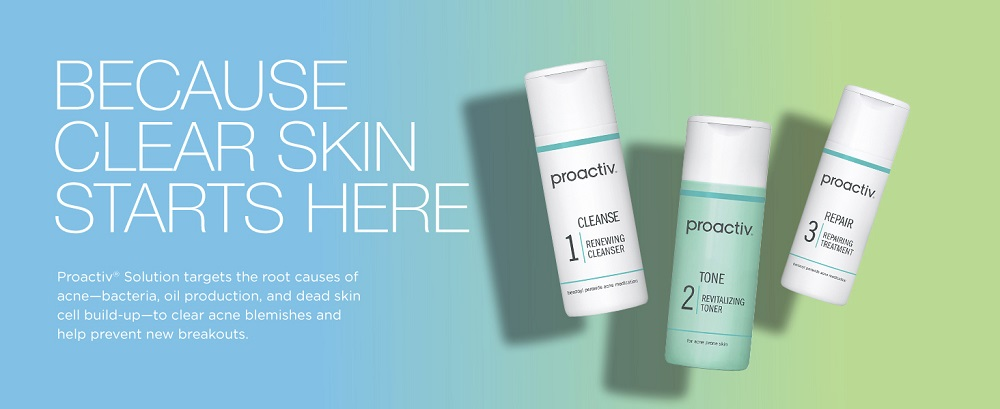 Proactiv Solution 3-Step Acne Treatment System 2019 hottest holiday skincare gift ideas