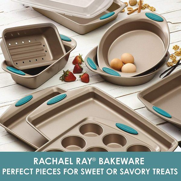 Rachael Ray 47578 Cucina Nonstick Bakeware Set 2019 hottest holiday kitchen cook gifts